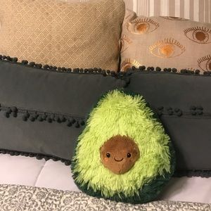 SQUISHABLE Plus Avocado Pillow